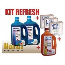 OFFERTA KIT REFRESH CAMPER LIQUIDO ACQUE + CARTA IGIENICA