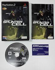 Tom Clancy's Splinter Cell, Playstation 2, Pal-Esp.