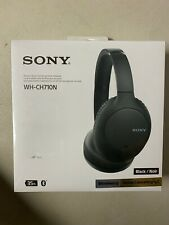 Sony Wireless Bluetooth Headphones WHCH710N Over Ear Noise Canceling with W/ Mic
