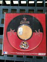 GAME USED DIRT Coasters (Set of 4) HOUSTON ASTROS 45th ANNIVERSARY MLB COA