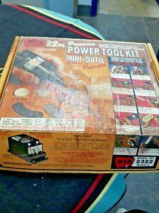 L👀K Vintage Wen 22 piece Power Tool Kit Model 2322