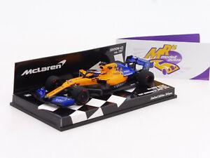 """Minichamps 537194314 # McLaren MCL34 No.14 Test Bahrain 2011 """" F. Alonso """" 1:43"""