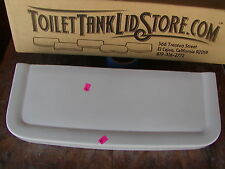 "Crane Antique Toilet Tank Lid 20"" x 7 5/8"" Two Tabs"