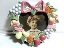 Fruit Wreath Mini Picture Frame