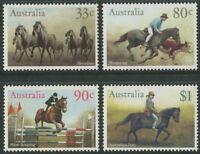 HORSES 1986 - MNH SET OF FOUR (B49-RR)