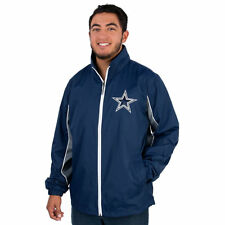 c59ddb3d8 NFL Dallas Cowboys Men s Navy Team Name Full Zip Up Jacket X-