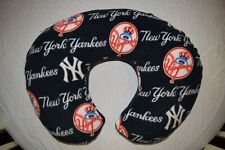 NEW INFANT BOPPY PILLOW COVER m/w NY YANKEES FLEECE FABRIC