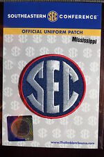 Official Licensed NCAA College Football Mississippi SEC Conference Patch