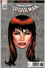 Amazing Spider-Man #13 McKone Legacy Headshot Variant Cover (Vol 4)