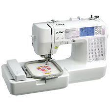Embroidery Sewing Machine Computerized Fonts Brother Designs Patterns LCD USB