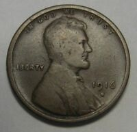 1916-S Lincoln Wheat Cent in Average Circulated Condition       DUTCH AUCTION