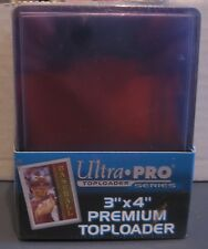 "25 ULTRA PRO TOPLOADERS 3""X4"" CARD HOLDERS RIGID PROTECTIVE STORAGE SLEEVES NEW"