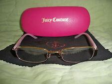 Juicy Couture Prescription Eyeglass Frames*Lenses*Pink/Brown*125*47*16