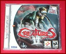 Nightmare Creatures II for the Sega Dreamcast System NEW SEALED