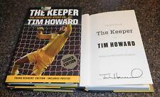TIM HOWARD SIGNED BOOK AUTOGRAPH THE KEEPER US SOCCER USMNT GOALIE