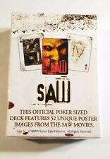 SAW Playing Cards 52 Card Movie Video Game Promo Deck