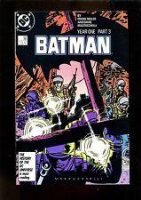 BATMAN 406 (9.8) YEAR 1 PART 3 FRANK MILLER DC (b049)
