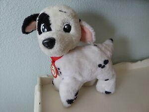 "Vintage 1991 MATTEL Disney 101 DALMATIANS Dog PATCH Stuffed Plush Toy 10"""