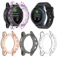 For Garmin Fenix 6/6S/6X/5/5X/5S Ultra Thin TPU Clear Case Protector Cover Frame