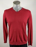 Jeff Banks Cotton Cashmere V Neck Sweater Jumper Medium