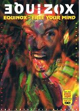 EQUINOX Rave Flyer Flyers A4 year unknown Milwaukees Bedfordshire