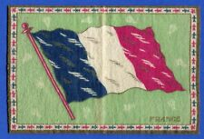 Early 1900's Tobacco Felt Country Flag France