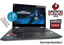 "Cheap Gaming Laptop Lenovo Yoga 14"" AMD A6 Radeon R5 GPU 2 in 1 Notebook Win 10"