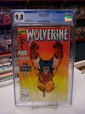 WOLVERINE #27 (Marvel Comics, 1990) CGC Graded 9.8! ~ JIM LEE ~ White Pages