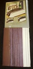 "EX QUALITY LINED PENCIL PLEAT CURTAINS & T/BACKS 66"" x 54"" RRP£60.00 CHOC/CREAM"