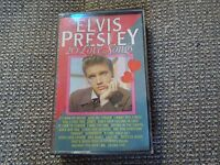 Elvis Presley 20 Love Songs RARE Dutch Cassette Album