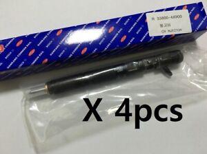 Remanufactured Injectors Delphi CRDI 33800 4X900 4pcs Set For Kia Bongo 3