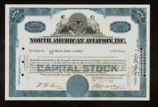 NORTH AMERICAN  AVIATION INC CA ( P51 Mustang F86 Sabre ) - sign Kindelberger