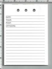 Tour Duty Paper For The Medium Memo Book 3 Pads