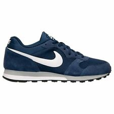 New Nike Men's MD Runner 2 Casual Shoes (749794-410)  Midnight Navy/White/Grey