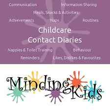 CHILDCARE CONTACT DIARIES - childminder, nursery, Fill in digitally or by hand!