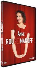 "DVD ""Anne Roumanoff - Rougemanoff !"" - NEUF SOUS BLISTER"