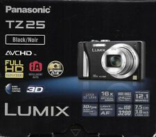 PANASONIC TZ 25 VIDEO CAMERA USED 1 WEEK ORIG BOX 16X ZOOM-LEICA LENS