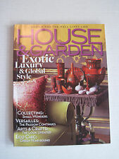 House & Garden - Exotic Luxury & Global Style - September 2006 -English, Monthly