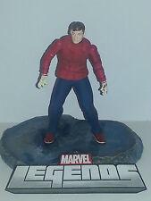 Marvel Legends 075 - Wrester SPIDER-MAN - Loose Figure - Peter Parker  RARE