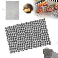 Tapis De Barbecue Feuille Cuisson BBQ Grill Réutilisable Anti-adhésif Net Pleinr