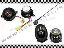 Kit fiat punto  cabrio 1 serie 4 casse anteriori / posteriori + antenna