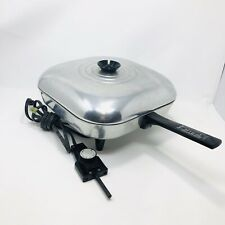 """Dormeyer 11 1/2"""" Electric Skillet Fry Pan Vintage Model 20 Camping Vintage"""