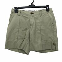 Horny Toad Womens sz 6 Solid Light Green Cargo Style Hiking Trail Casual Shorts