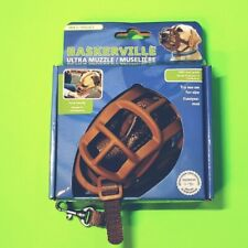 Baskerville Ultra Muzzle for Dog - size 2 - Tan Permits panting & drinking
