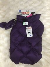 $40 NWT 32 Degrees Ultra Light Down Doggie Quilted Vest in Purple Sz L
