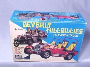 1968 Original MPC BEVERLY HILLBILLIES TELEVISION TRUCK by GEORGE BARRIS COMPLETE