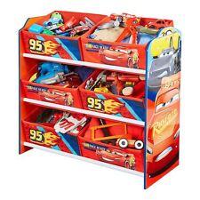 DISNEY CARS QUATRE ROUES unité de stockage 6 poubelles tiroirs vêtements jouets