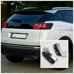 For Peugeot 3008 5008 Active Allure 17-19 Exhaust Muffler Output Replacement 2*