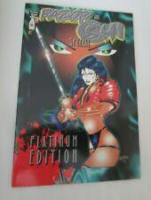 RAZOR and SHI Special #1 PLATINUM EDITION London Night Studios Comic NM
