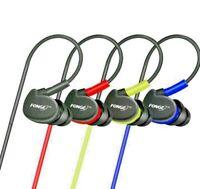 Waterproof Sport in Ear Earphones Headphones Earbuds HIFI Bass Headset With Mic